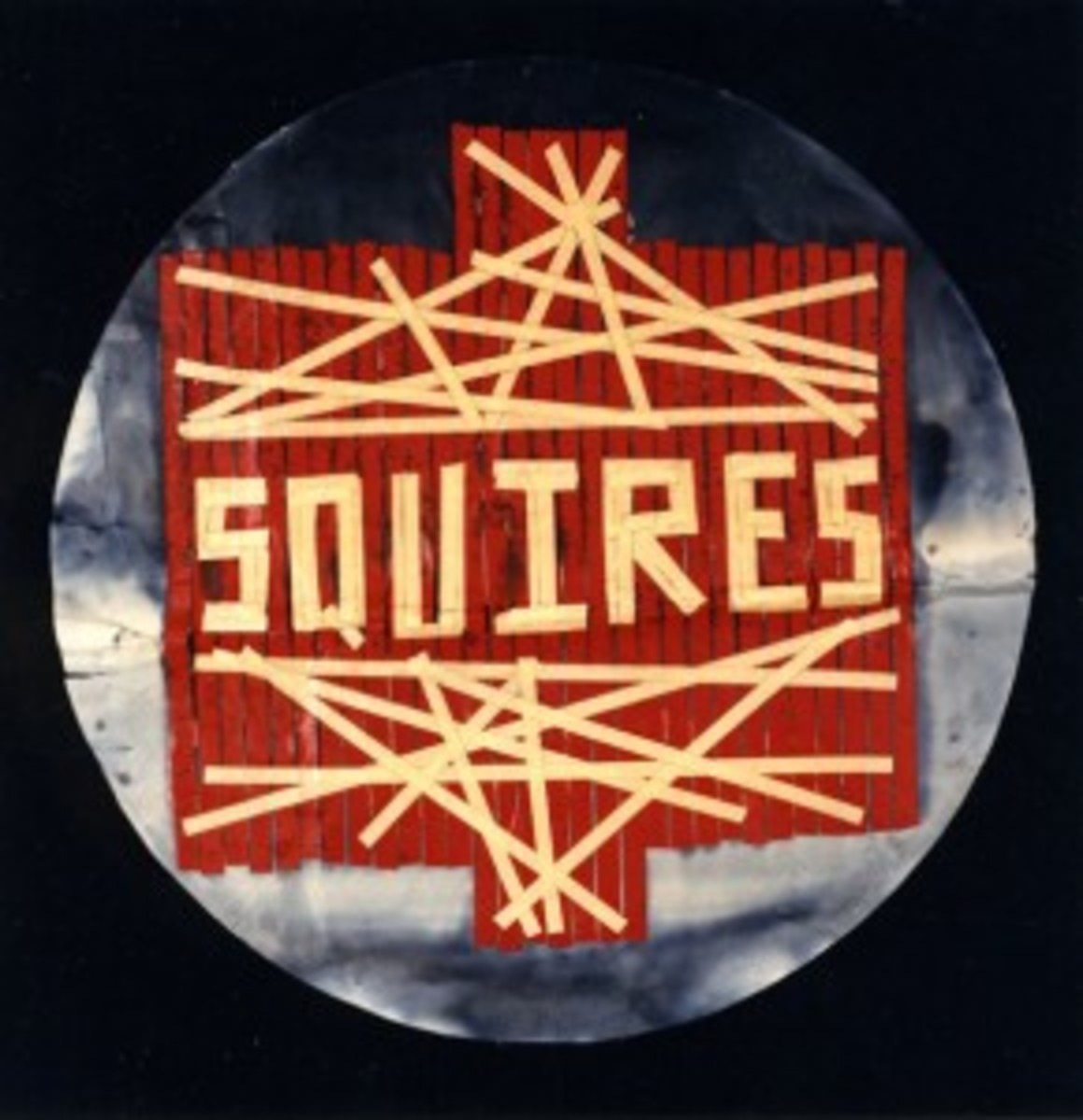 the squires 1965 with neil young bass drum head