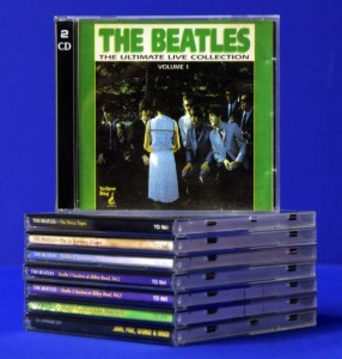 rare beatles CDs