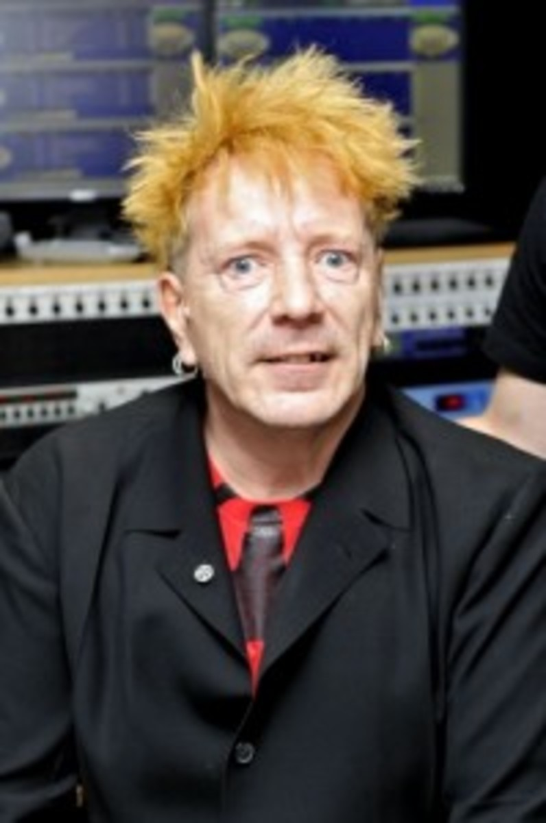 John Lydon has been discussing his new book (and Arsenal soccer) in recent appearances on UK radio.