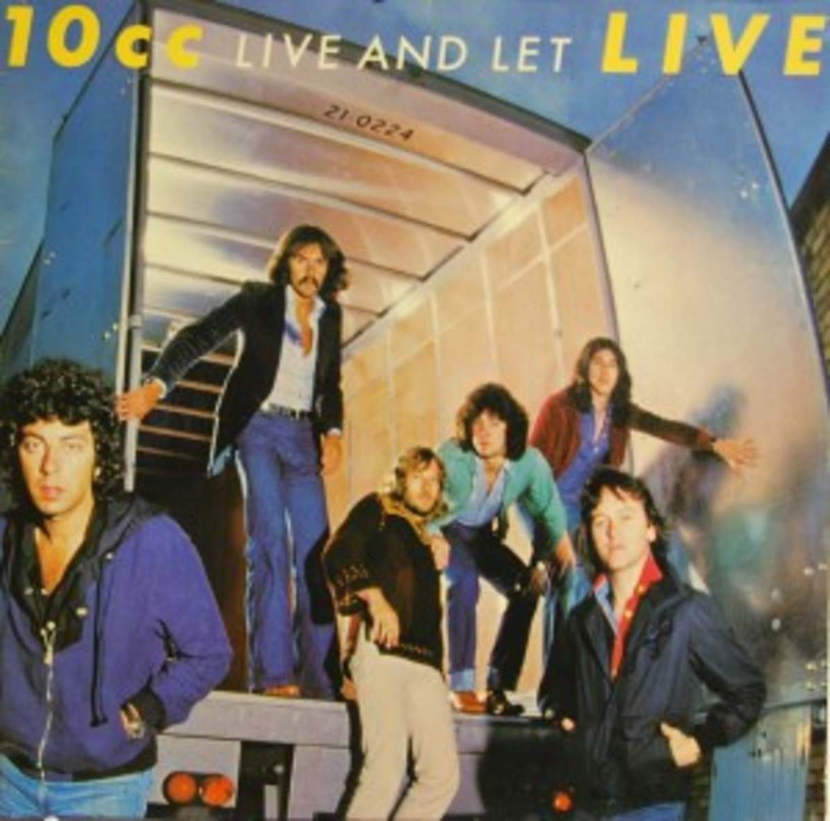 10cc Live and Let Live