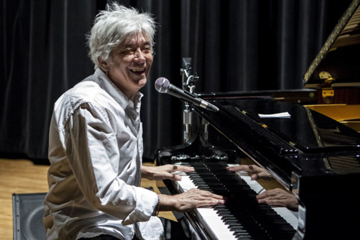 Ian McLagan was part of the British Invasion with The Small Faces. These days, he's writing his own songs and running his own band in a long-term residency in Austin, Texas. Jim Chapin Photography.