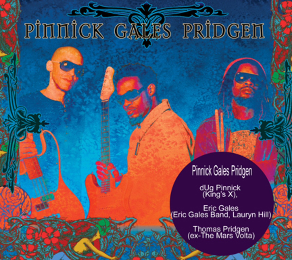 PGP Pinnick Gales Pridgen album