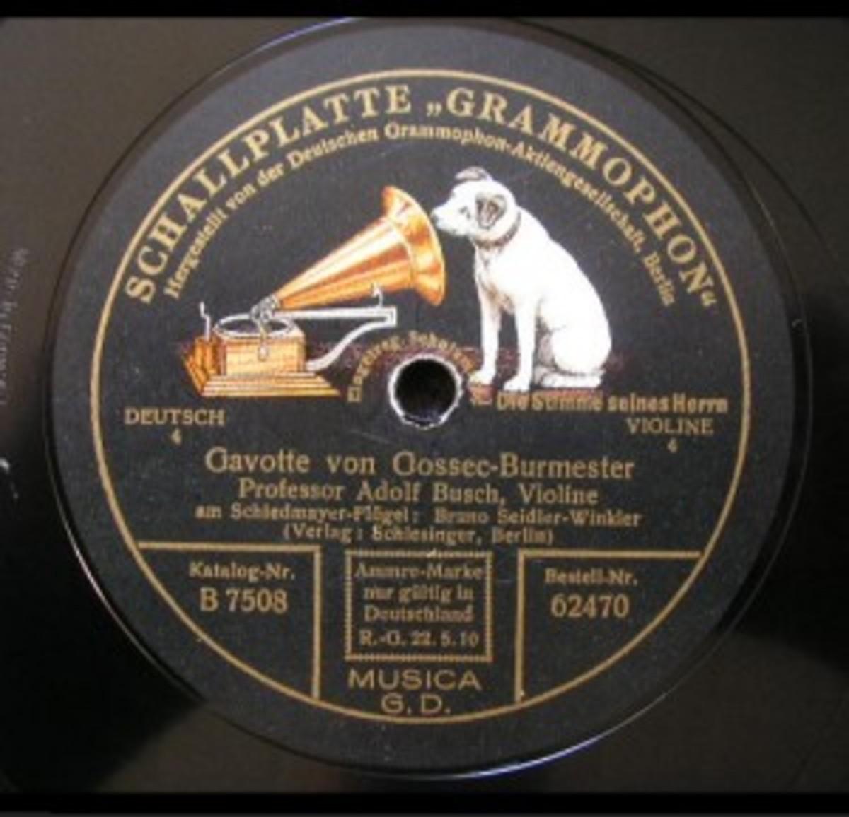 Adolf Busch classical music