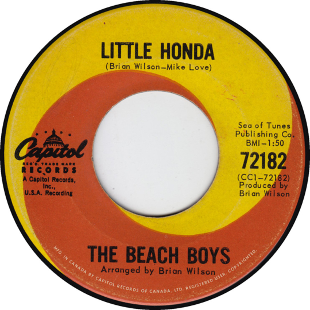 The Beach Boys Little Honda