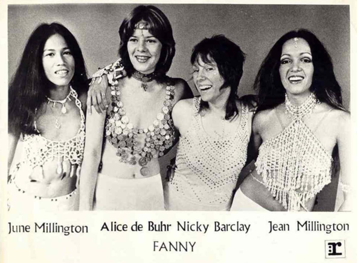 Fanny June Millington Jean Millington Nickey Barclay Alice de Buhr