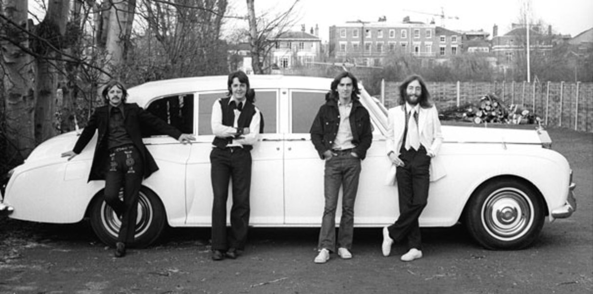 The Beatles 1969. Photo courtesy of EMI /Copyright Apple Corps Ltd. 2009