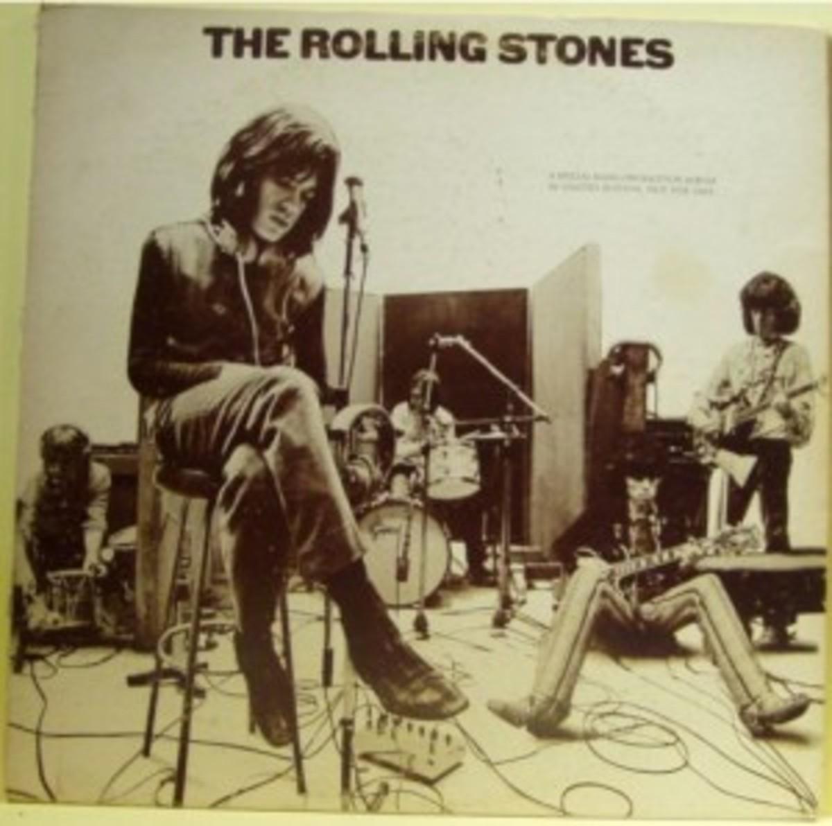 The Rolling Stones autographed promo album