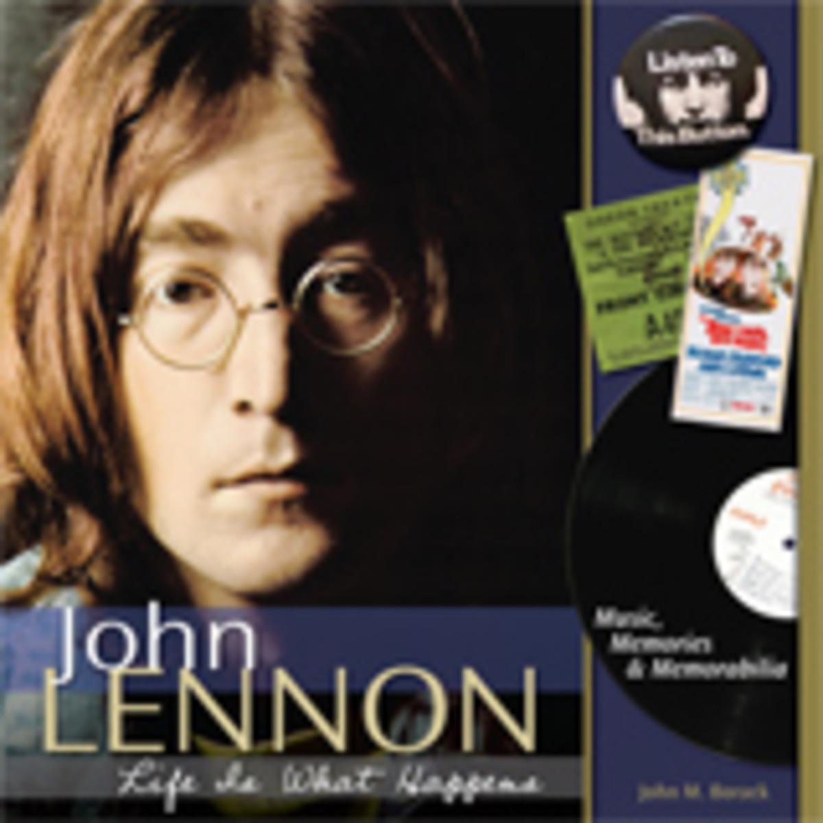 john lennon memribilia book cover