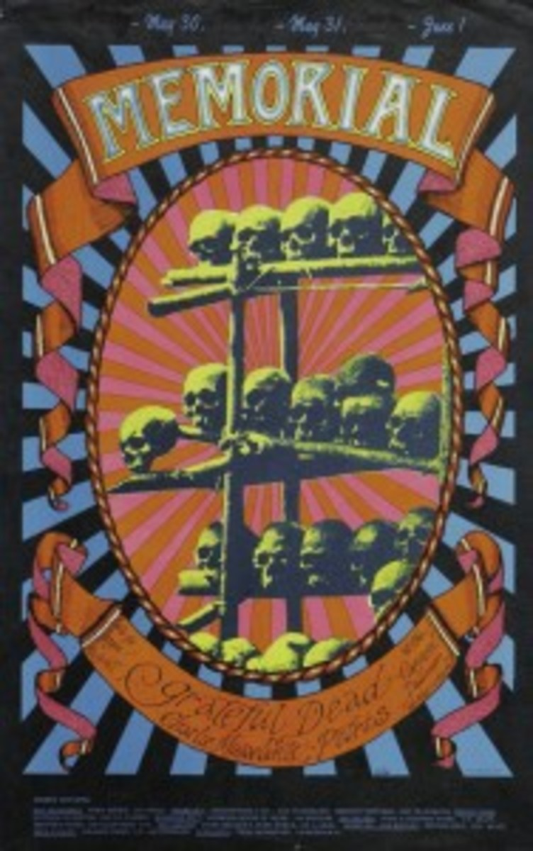 Alton Kelly Grateful Dead poster