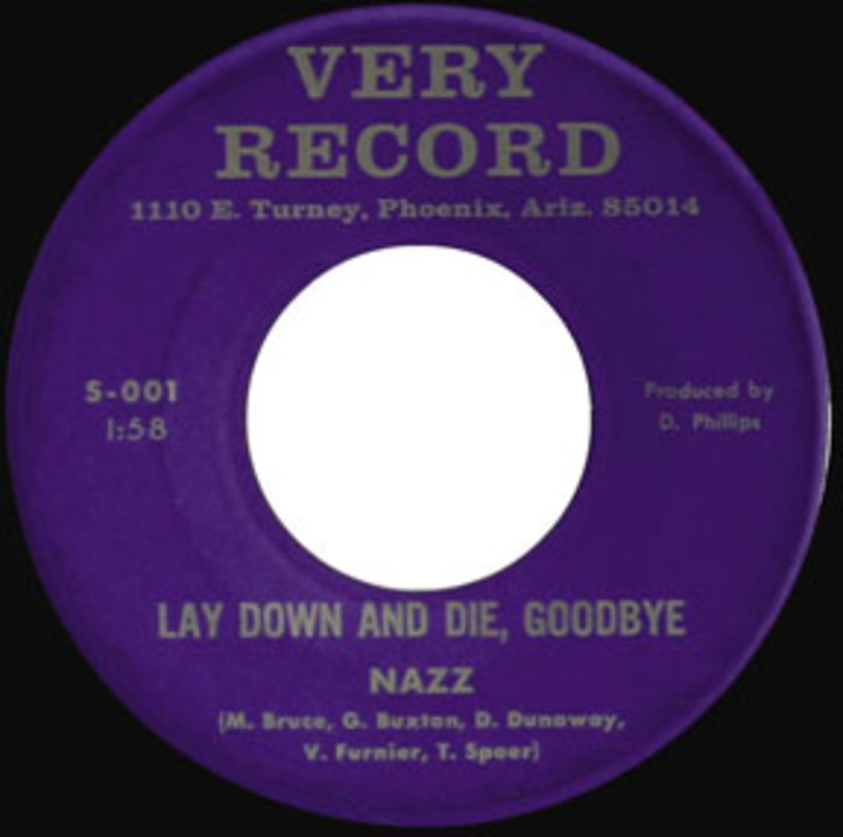 Nazz Lay Down and Die Goodbye