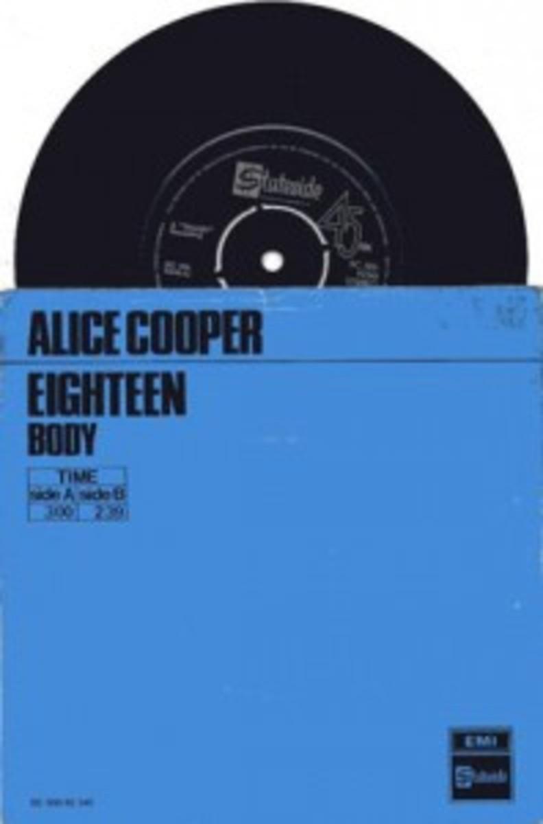 Alice Cooper Eighteen
