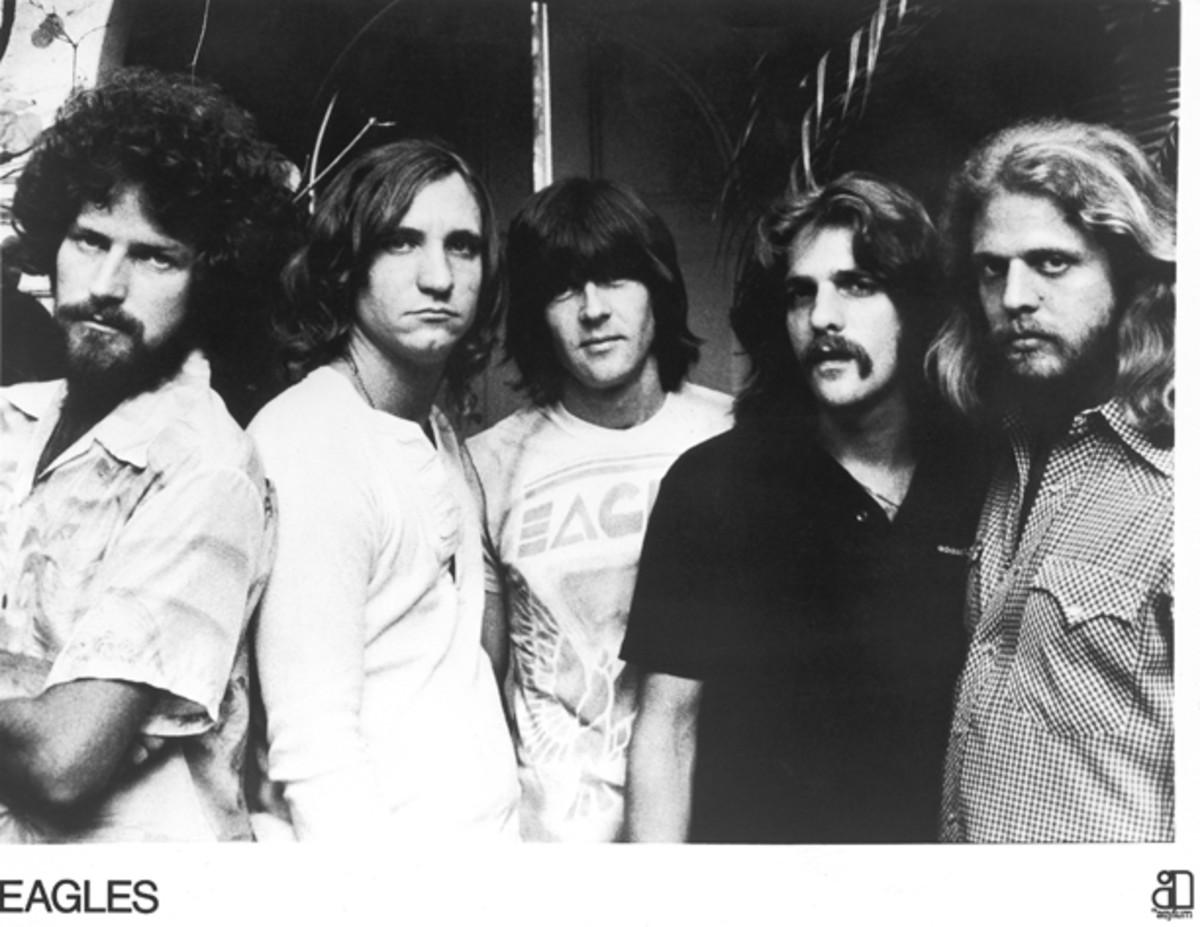 The Eagles publicity photo Asylum Records