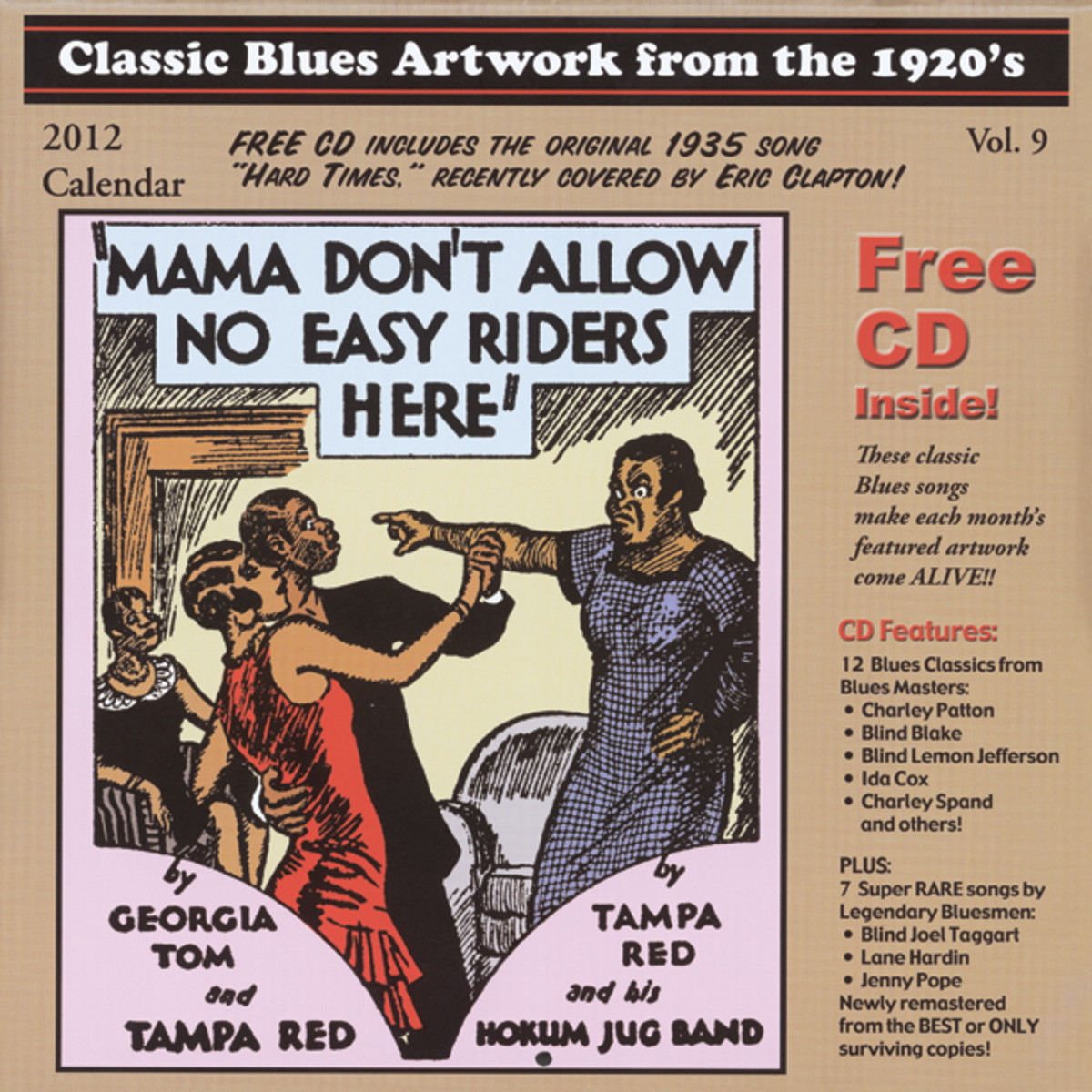 2012 Blues Images Calendar