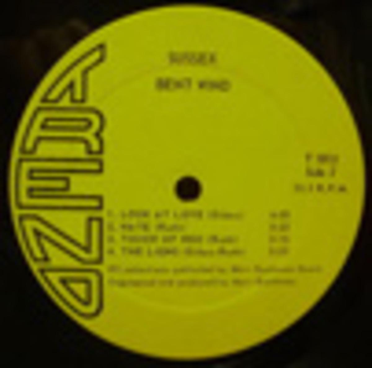 Bent Wind Sussex LP