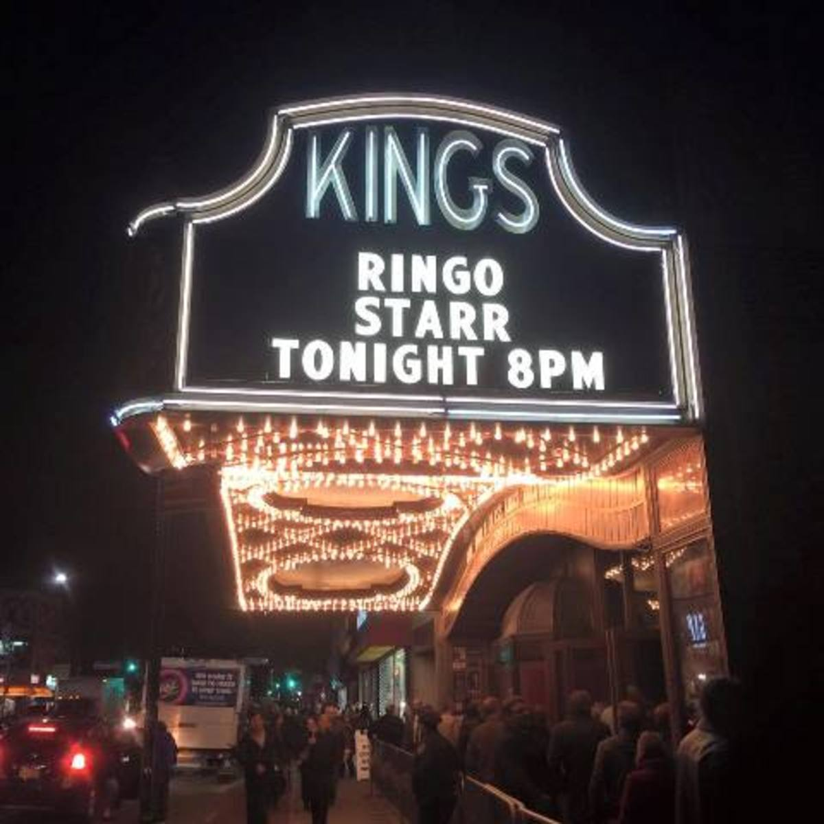 On Halloween night, Brooklyn's beautiful Kings Theatre played host to Ringo Starr and His All-Starr Band for the spectacular finale to their tour.