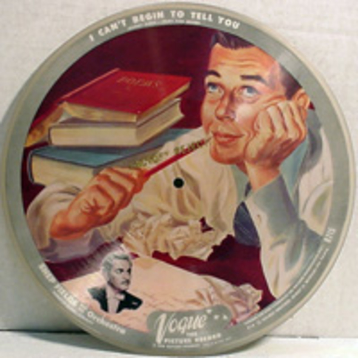 Shep Fields Waitin' For The Train To come In Vogue R715 Picture Disc