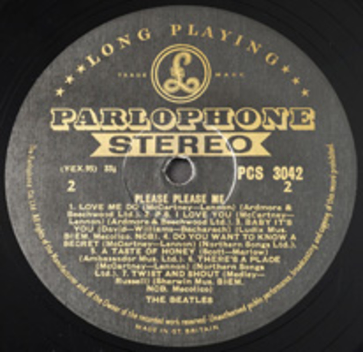 Beatles Please Please Me PCS 3042