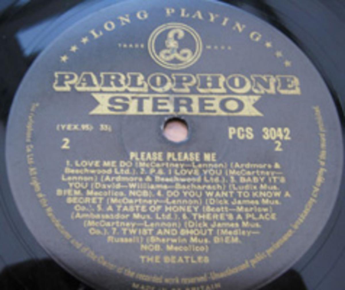 The Beatles Please Please Me PCS 3042