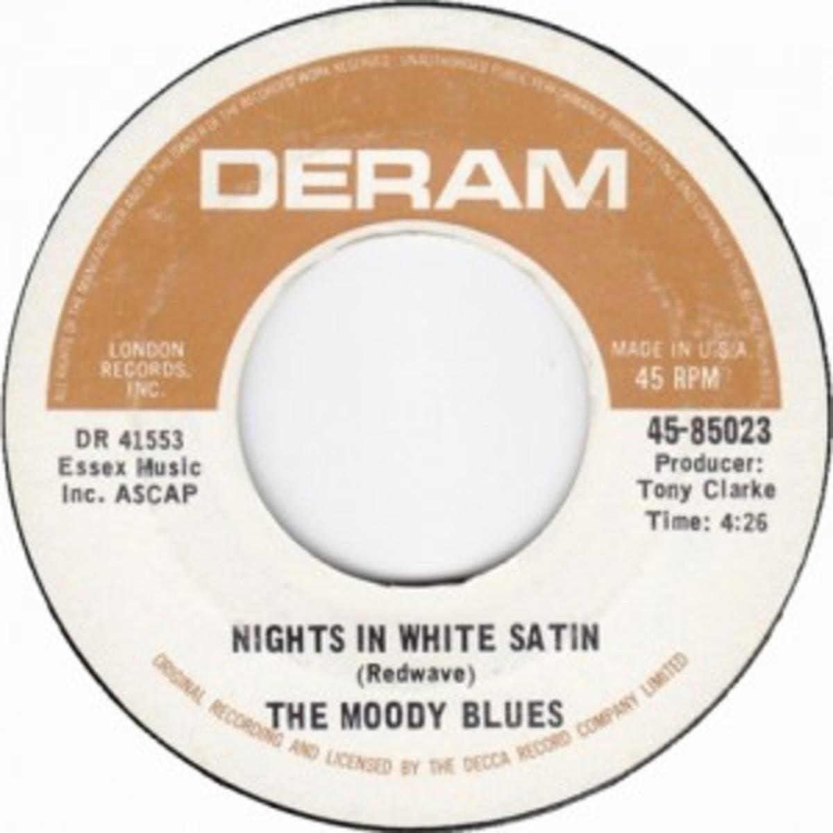 Moody Blues Nights In White Satin on Deram