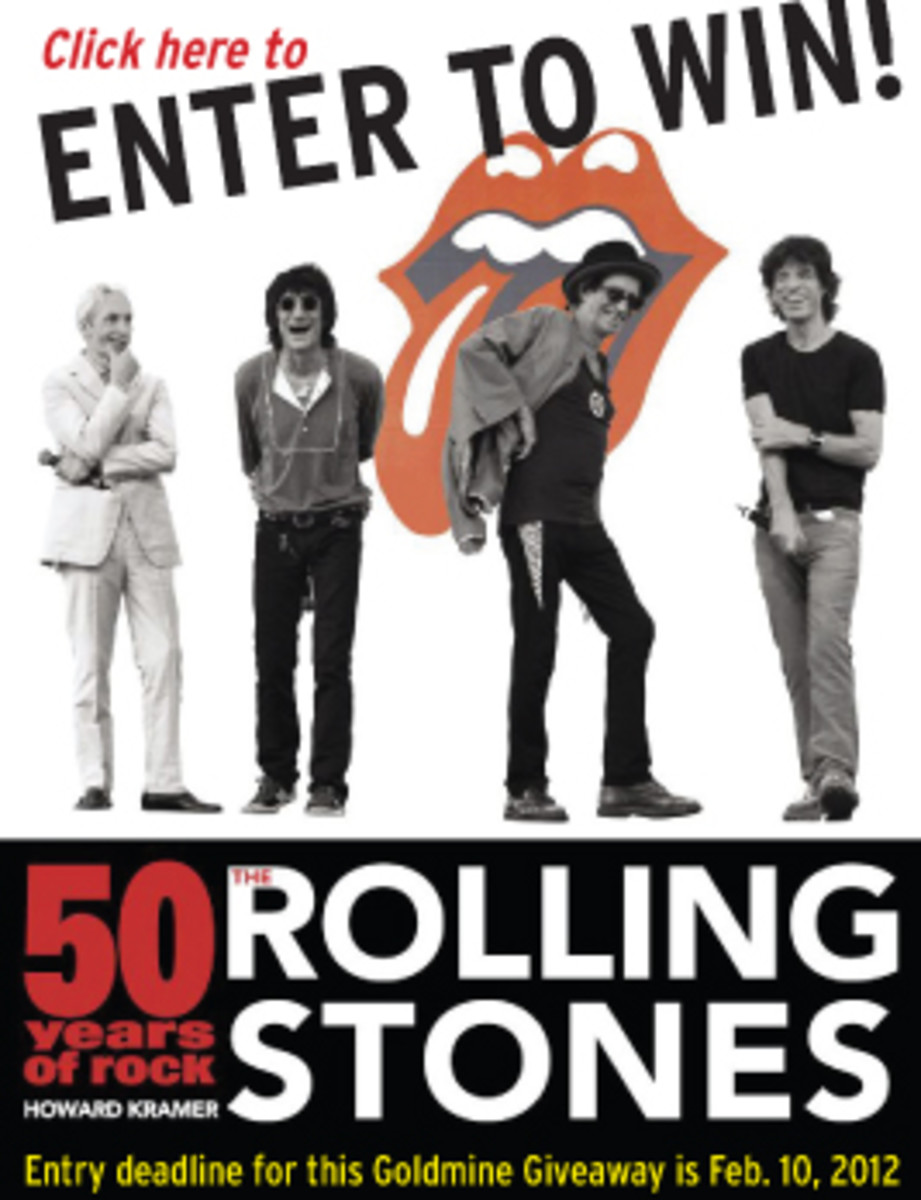 Rolling Stones 50 Years of Rock Goldmine Giveaway