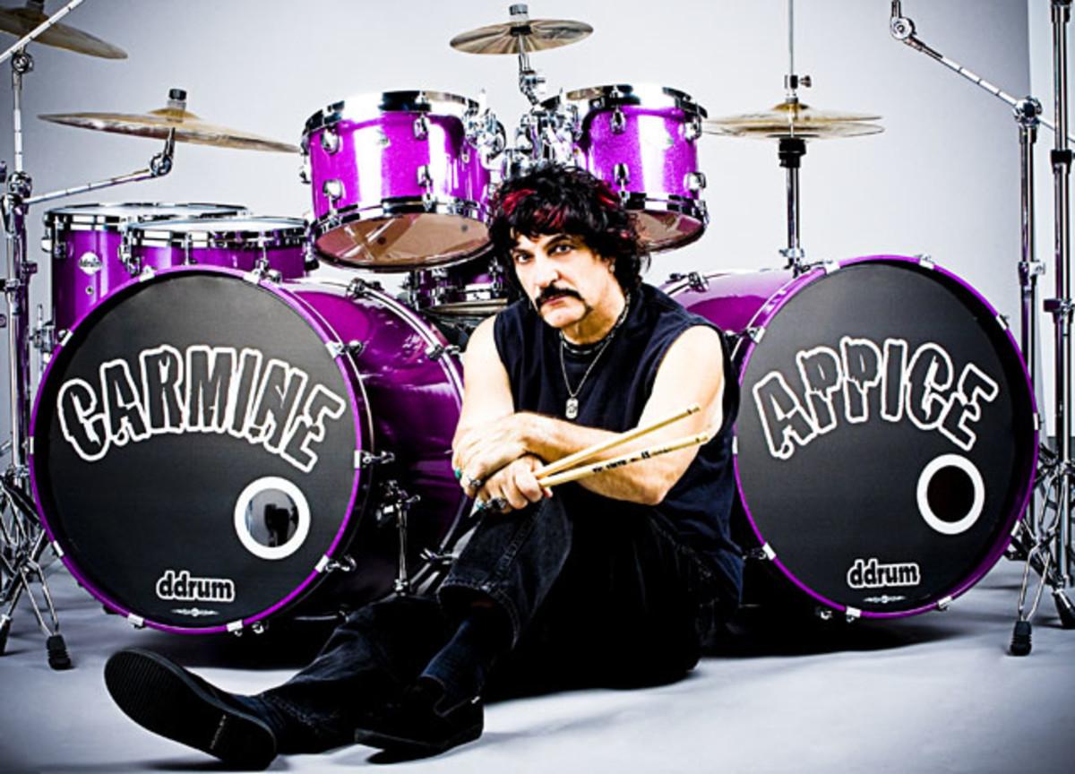 Carmine Appice drum kit