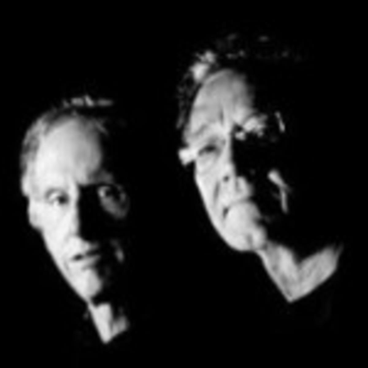 Robby Krieger (left) and Ray Manzarek