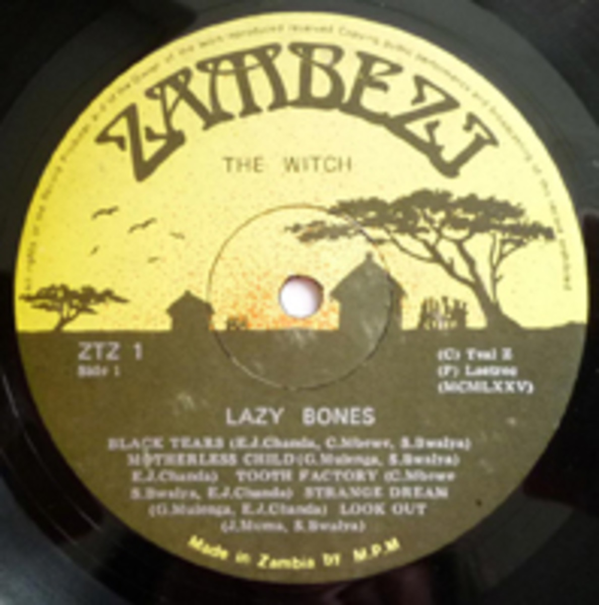 Witch Lazy Bones LP