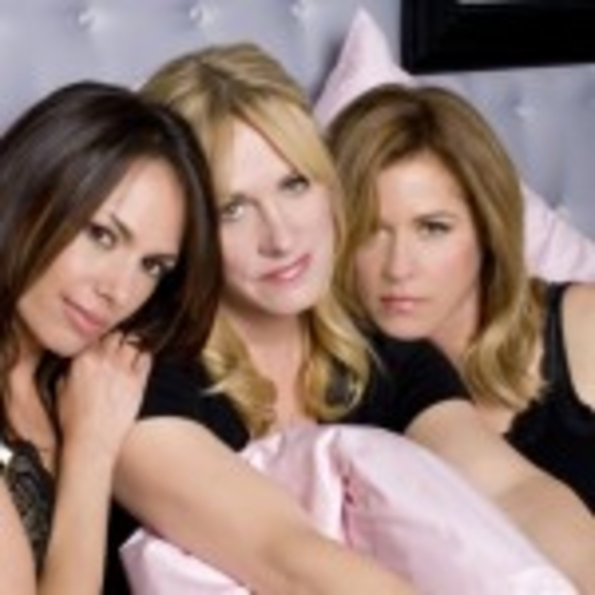 The Bangles are (from left) Susanna Hoffs, Debbi Peterson and Vicki Peterson. (Photo by Casey Rodgers)