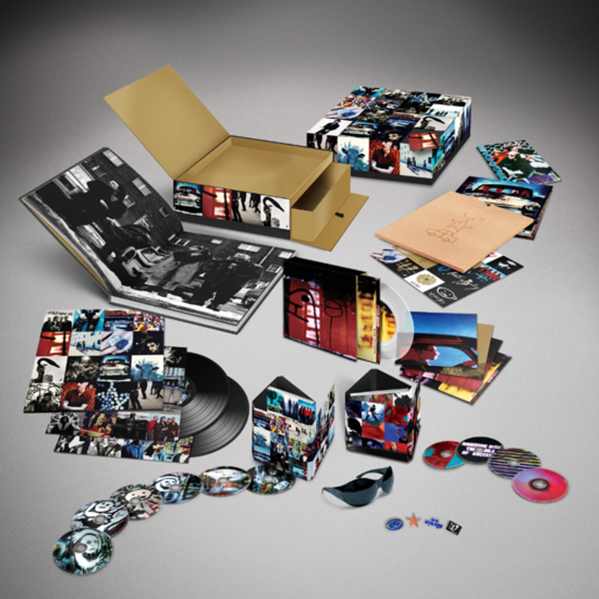 U2 Achtung Baby uber deluxe edition