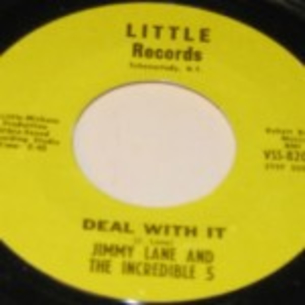 Jimmy Lane and The Incredible 5 Deal With It What Kind of Man 45