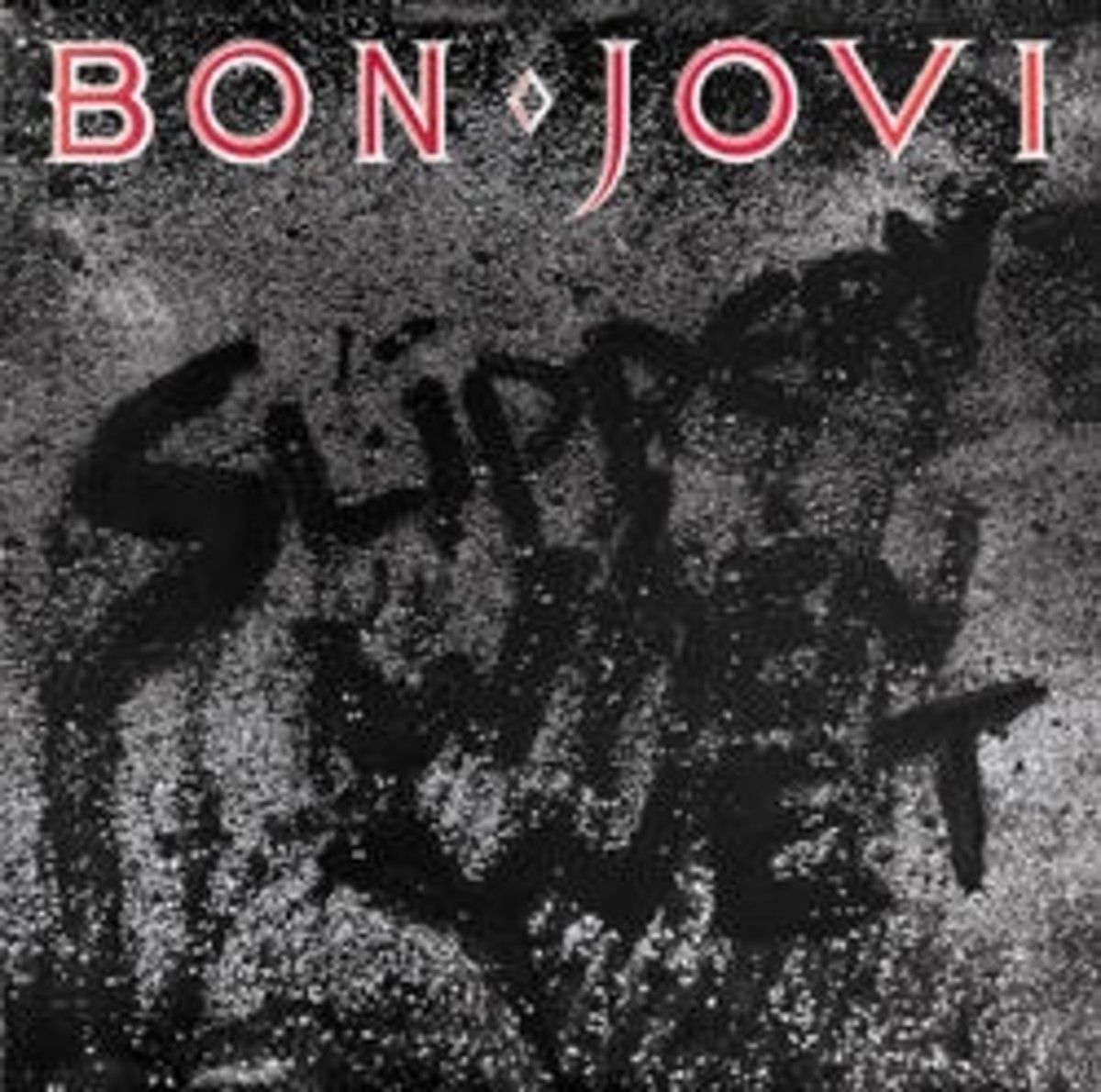 BON JOVI SLIPPERY WHEN WET COVER FROM ISLAND DEF JAM RECORD SITE