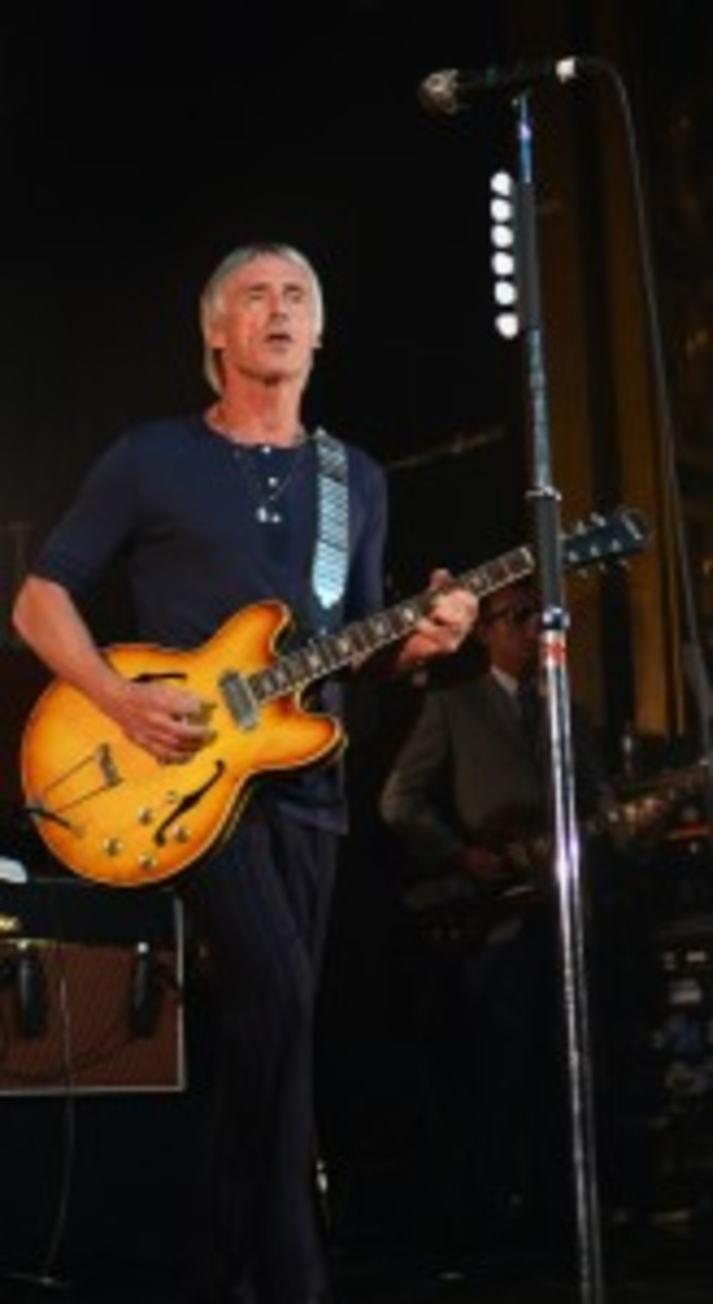 Paul Weller played an incendiary show at New York City's Webster Hall on Friday, July 26th. (Photo by Chris M. Junior)