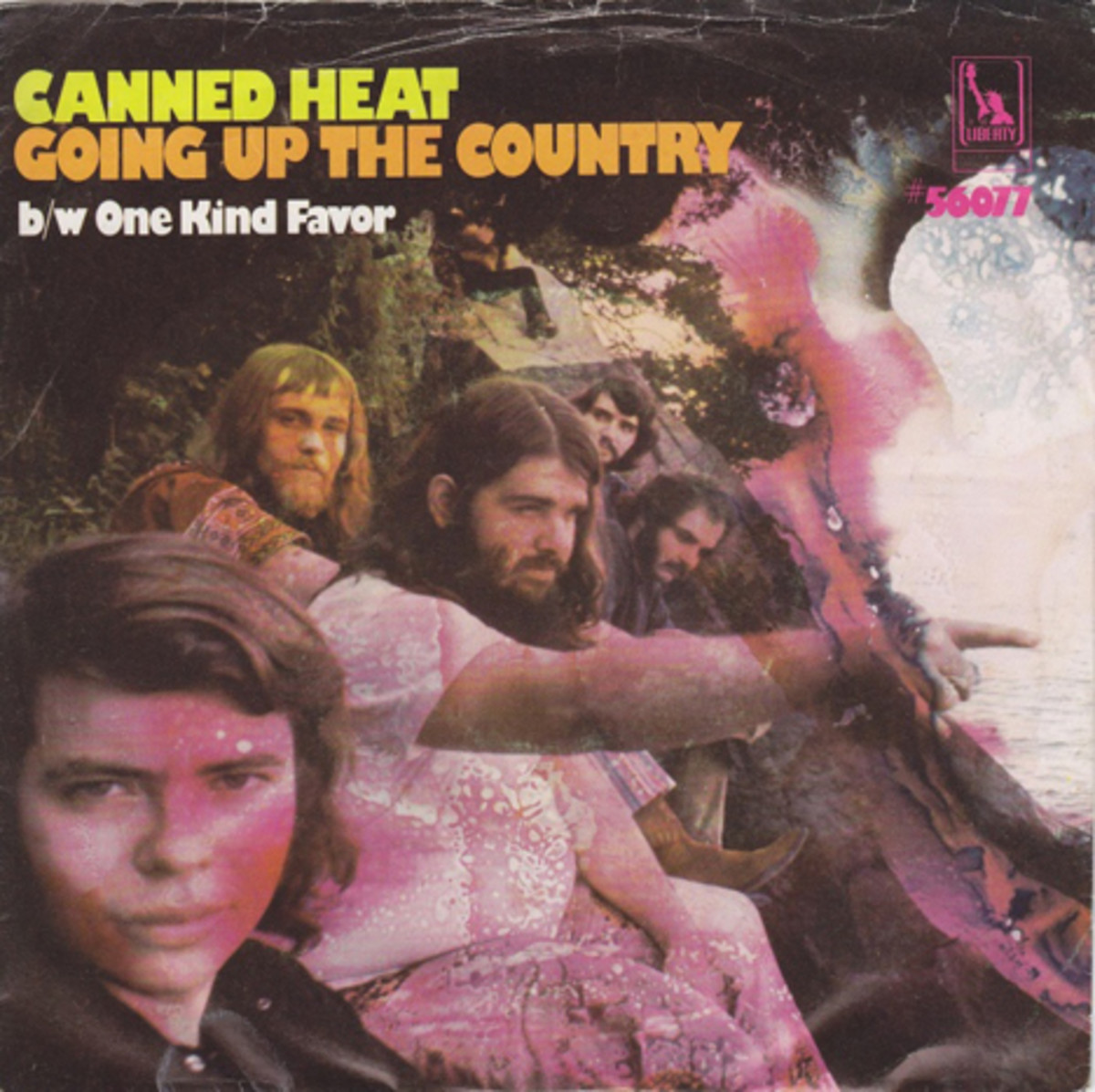 Canned Heat Going Up The Country picture sleeve