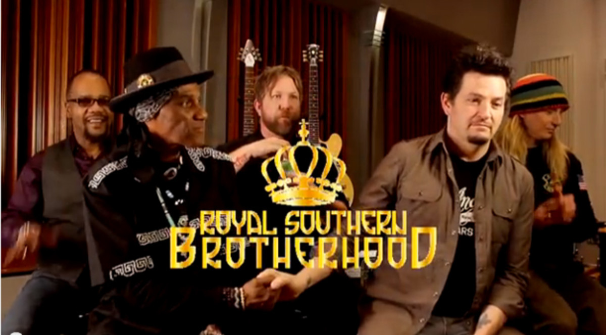 Royal Southern Brotherhood on YouTube from Ruf Records