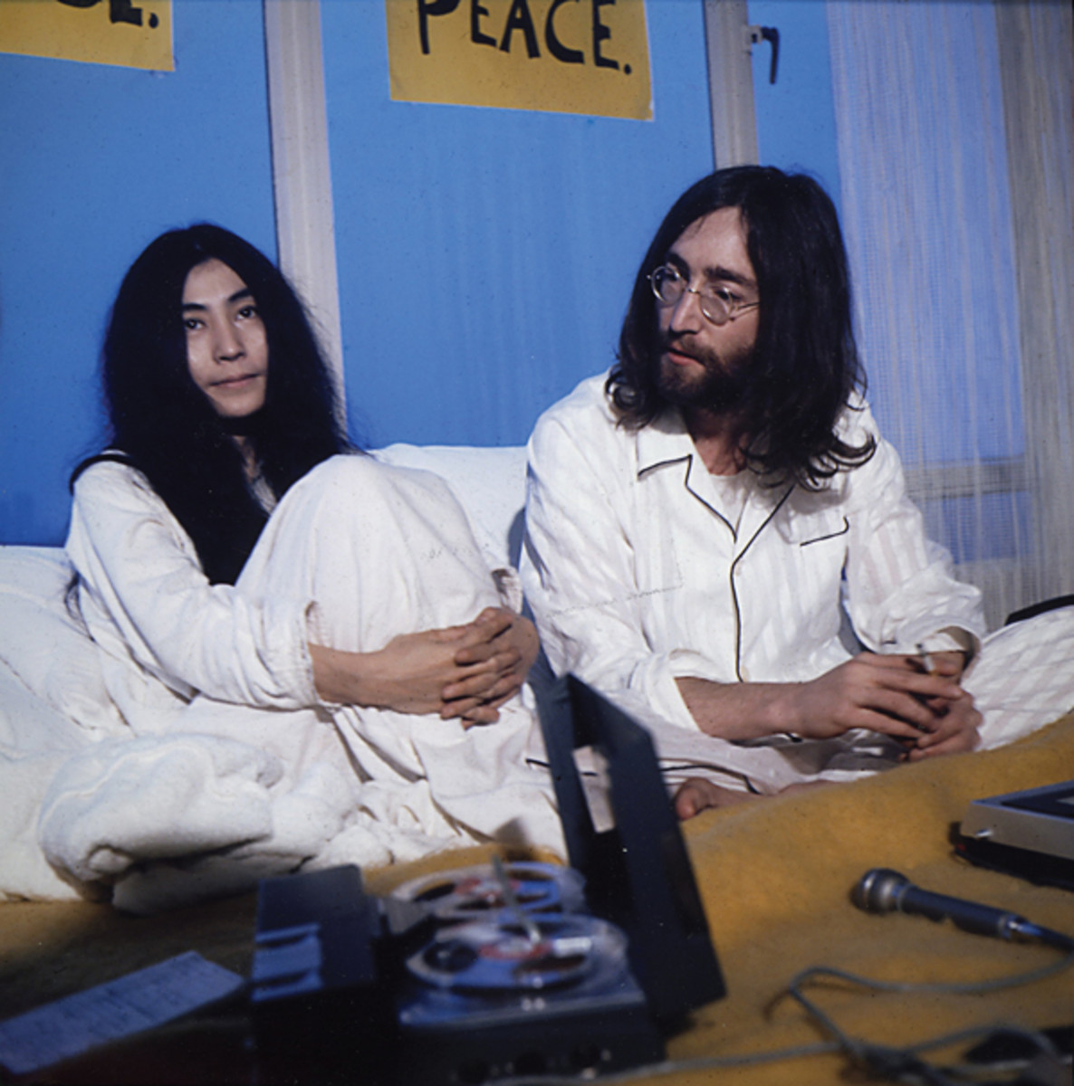 LENNON and Ono's activism would reach its peak in 1972. Photo courtesy of Laurens Van Houten/Frank White Photo Agency