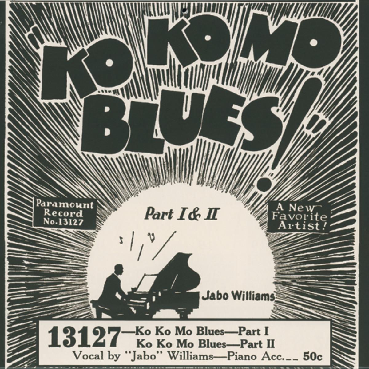 Jabo Williams Ko Ko Mo Blues