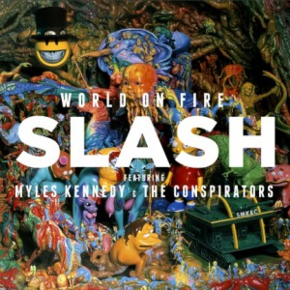 Slash featuring Myles Kennedy and The Conspirators World on Fire