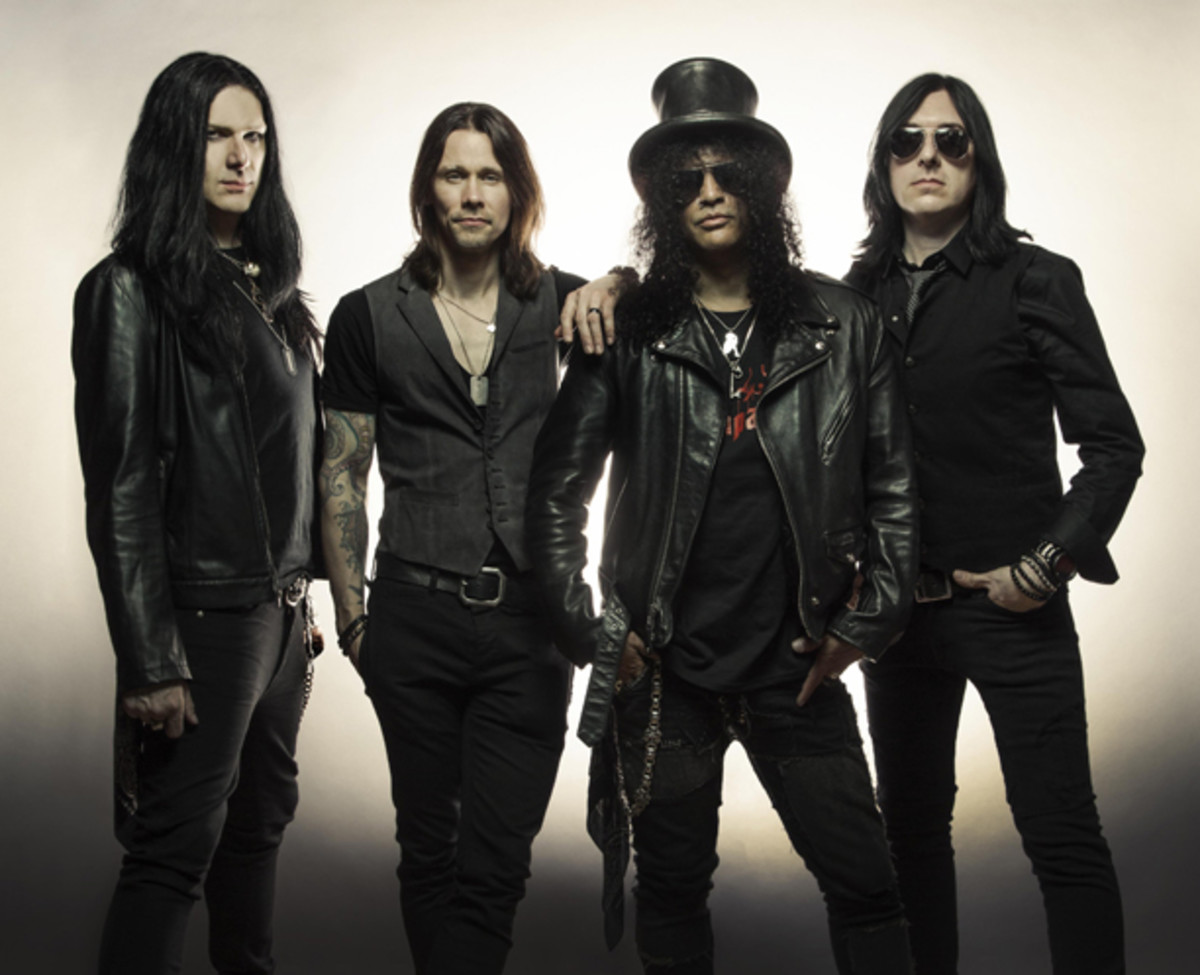Slash featuring Myles Kennedy and The Conspirators. Travis Shinn photo.