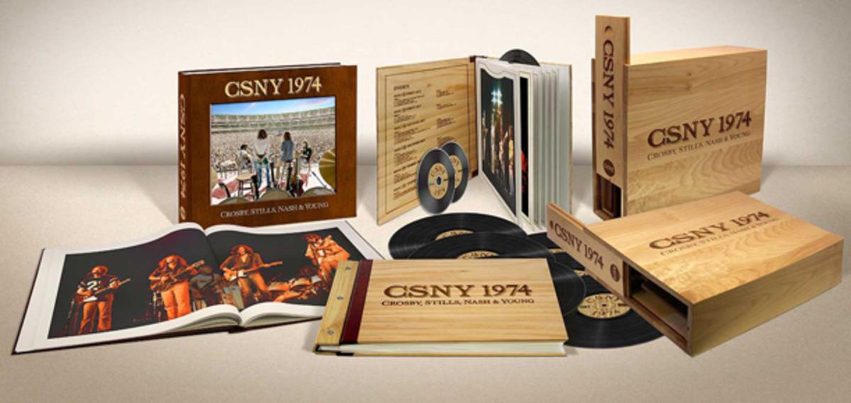 CSNY 1974 deluxe boxed set