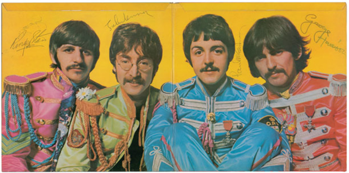 Beatles signed Sgt. Pepper RR Auctions