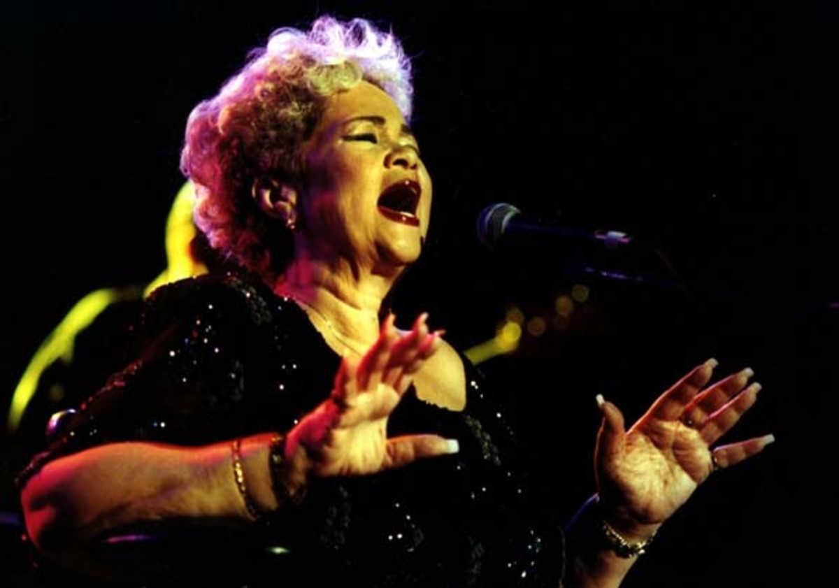 Etta James photo by Jay Blakesburg