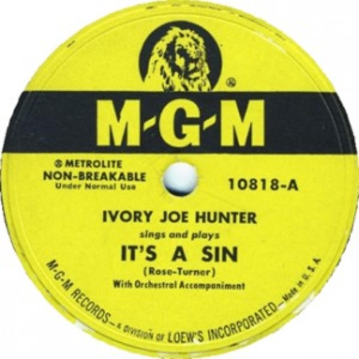 Ivory Joe Hunter It's A Sin