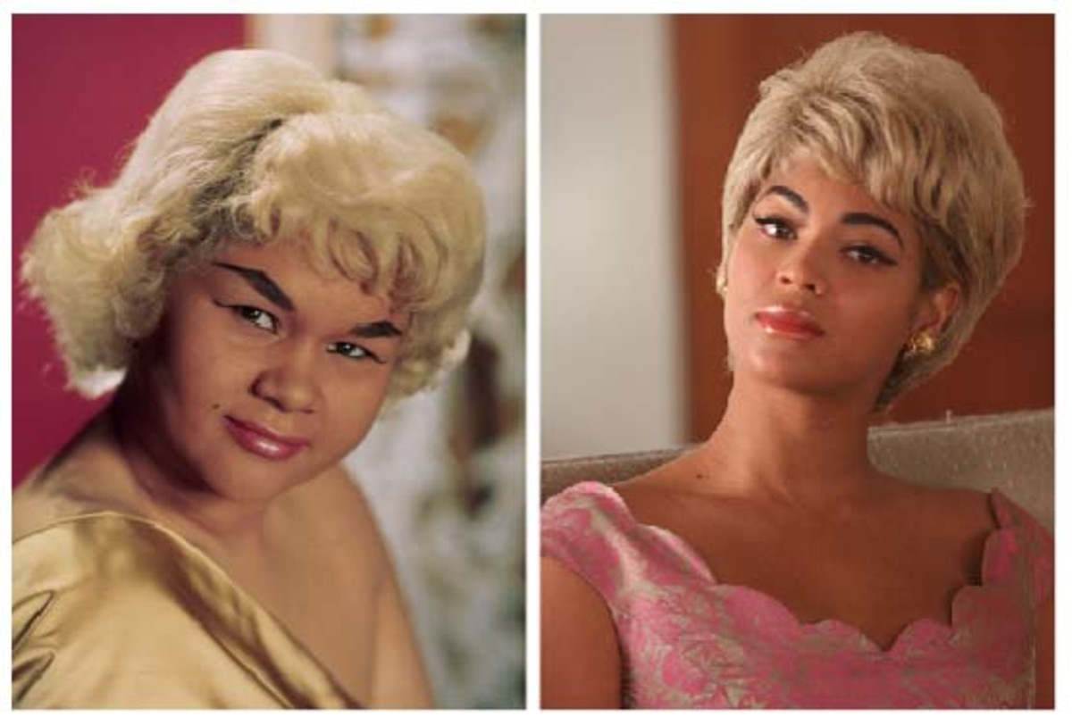 Etta James Beyonce Knowles