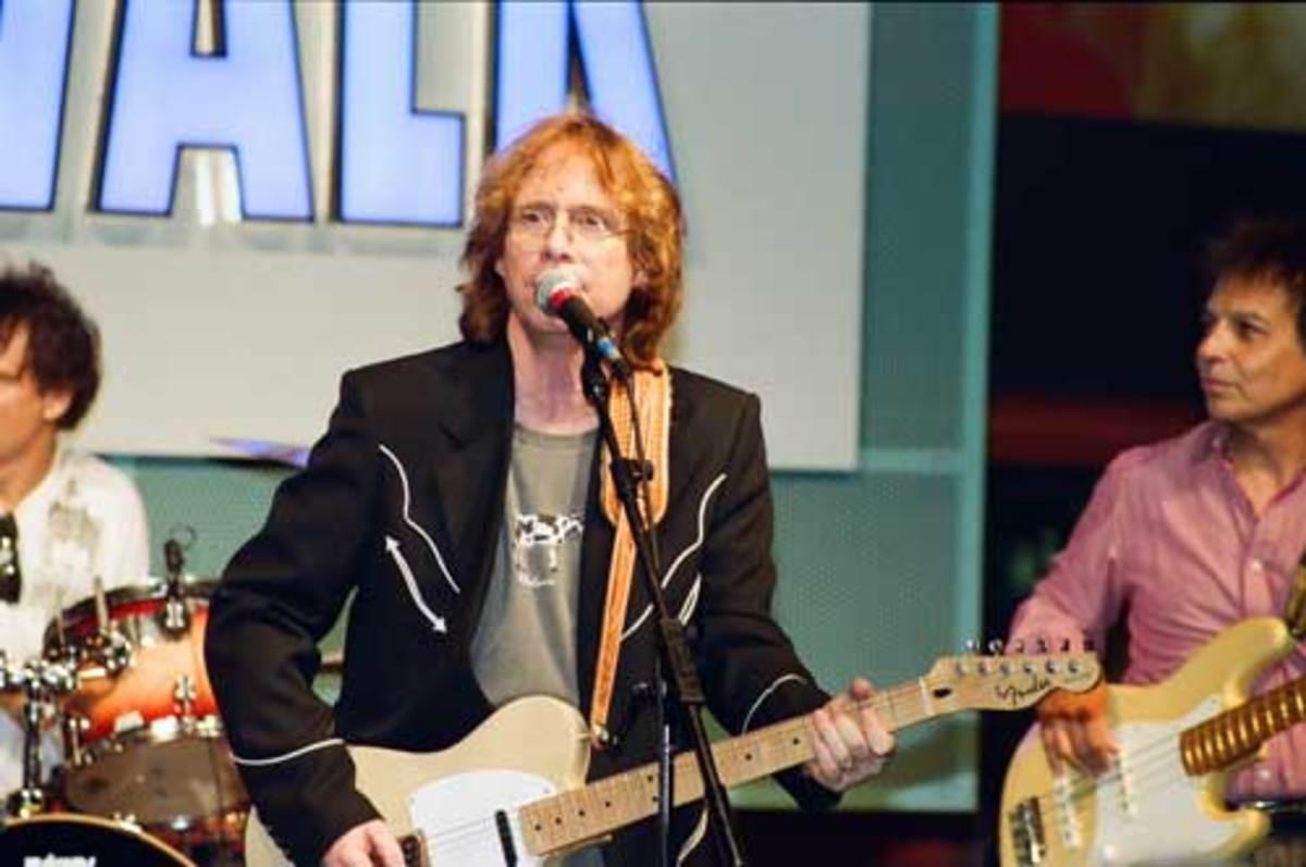 Bill Mumy onstage. Photo by Karl Fredrick Anderson II