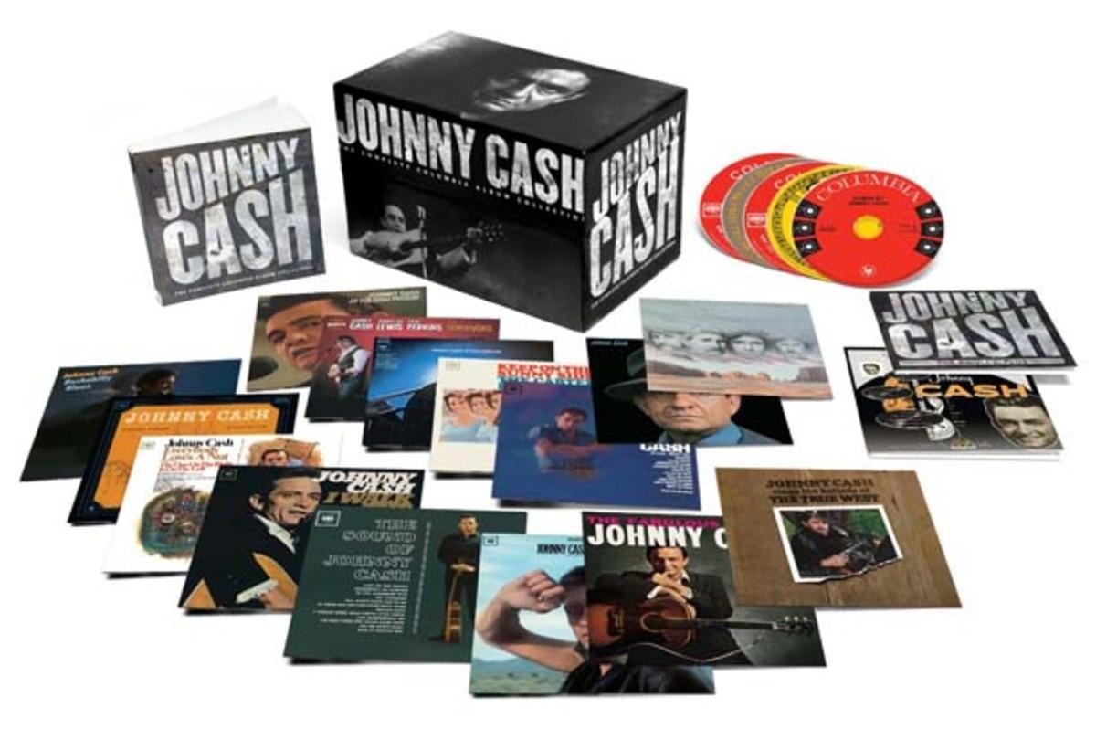 Johnny Cash Columbia albums box set