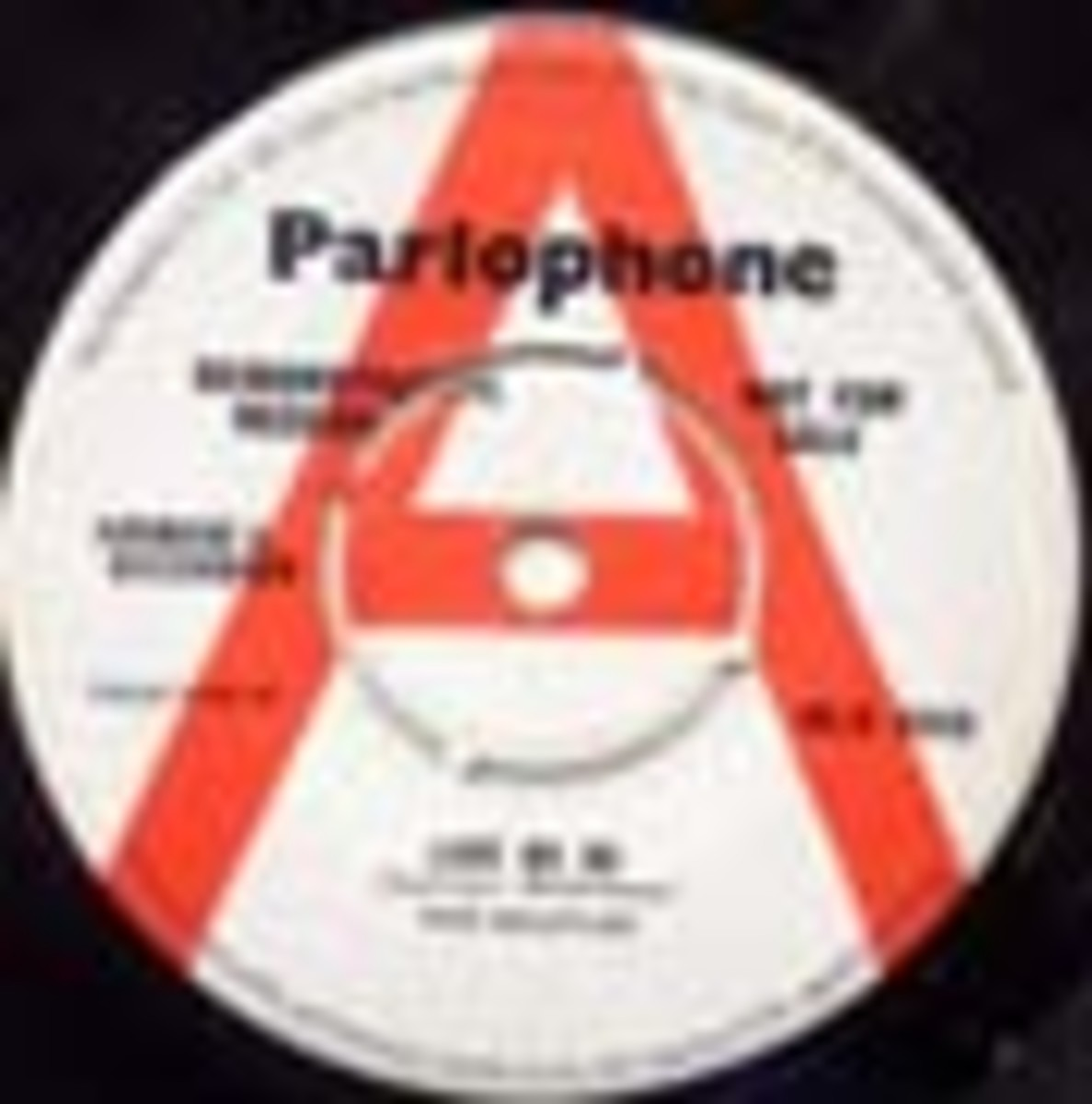 Beatles Love Me Do Parlophone