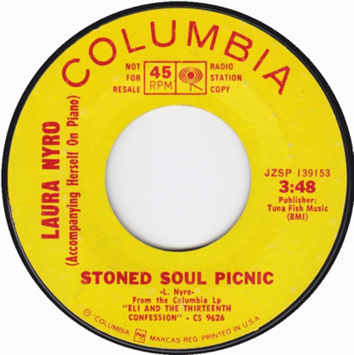 Laura Nyro Stoned Soul Picnic Columbia promo