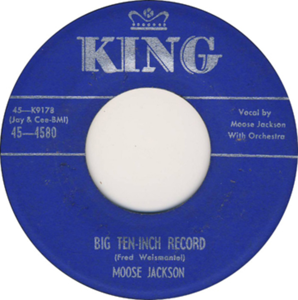 Tyler covered 'Big Ten-Inch' Record, but Bull Moose Jackson did it ...