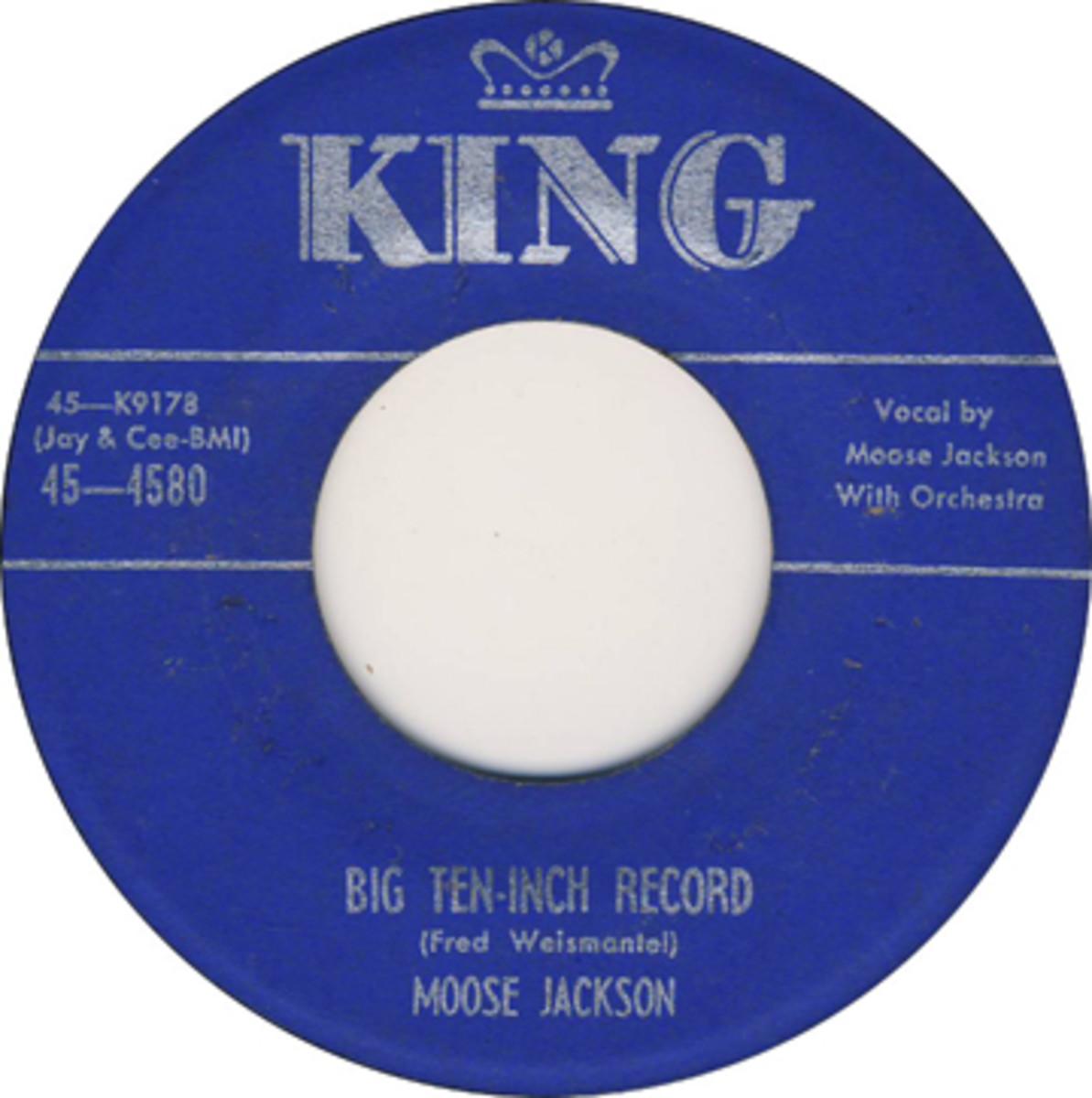 Bull Moose Jackson Big Ten Inch Record