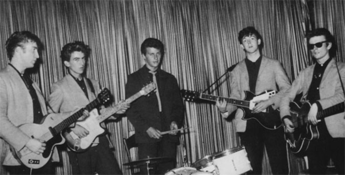 Early Beatles photo courtesy Heritage Auction Galleries